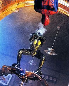 Spider-Man love this picture Dragon Ball Z, Marvel Characters, Fictional Characters, Black Spider, Spiderman Art, Man Character, Man Movies, Goblin, Disney Animation
