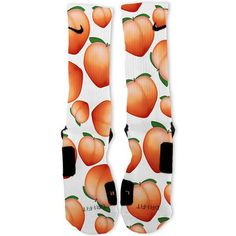 Peach Frenzy Custom Nike Elite Socks – Fresh Elites