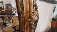 rokokó tükör Rococo, Ladder Decor, Curtains, Mirror, Furniture, Vintage, Home Decor, Mirrors, Blinds