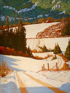 Afternoon Delight by Adam Noonan - Canadian Plein Air Painter - Works