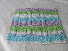 Free Knitting Pattern - Dishcloths & Washcloths : Window Dishcloth