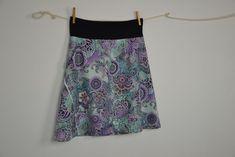 Áčková sukně - jak si připravit střih a ušít si ji Tie Dye Skirt, Sewing Patterns, Skirts, Fashion, Unitards, Moda, Fashion Styles, Skirt