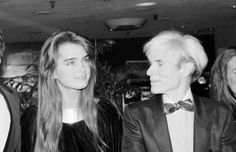 Brooke Shields, a legend for decades (here, in 1981, with Andy Warhol). See 49 more vintage images of the timeless beauty.