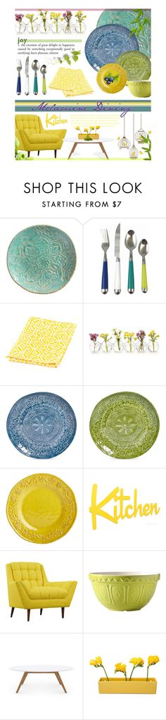 """""""Melamine Entertaining - Dining"""" by nonniekiss ❤ liked on Polyvore featuring interior, interiors, interior design, home, home decor, interior decorating, Merritt, Outdoor Oasis, Sobremesa by Greenheart and Maison Versailles"""
