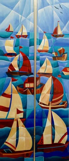 Flotilla Duo by Tiffany Budd