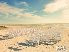 Sarasota Catering Company is Sarasota Florida and Bradenton Florida areas best caterer for simple and elegant beach weddings and receptions.
