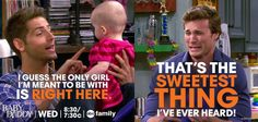 It IS the sweetest thing! #BabyDaddy