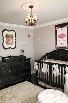 French Parisian Nursery for Baby Girl
