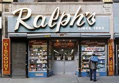 """""""Ralph's Discount"""", der Laden in der Chambers Street schloss 2007."""