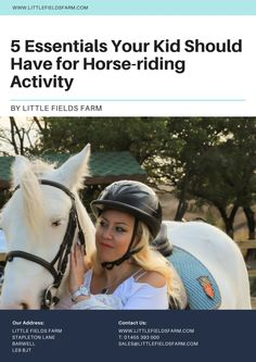 [PDF]5 Essentials Your Kid Should Have for Horse-riding Activity @SlideServe