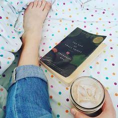 last book of summer? I hope not    #summer #summerreading #bookstagram #books #thegodofsmallthings #arundhatiroy #booklover #bookaddict #bookaholic #bookworm #bibliophile #blog #bookblog #instablog #read #reading #justread #justfinished #lovebooks #tea #chaitea #icedtea #masonjar #starbucks #tazo