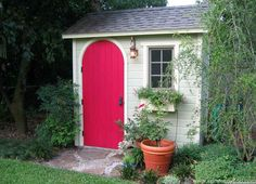 This color can revive any backyard! #Palmerston #storage #shed