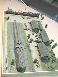 Train and Plane Dioramas!