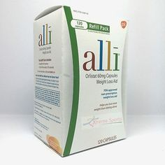 Alli Orlistat 60mg Weight Loss Aid Refill Pack 120 Capsules Free Shipping