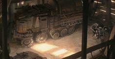 ArtStation - War truck, Julien Gauthier