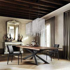 Cattelan Italia Spyder Wood table by Philip Jackson