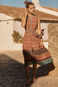Slide View: 4: Silk Umbria Dress
