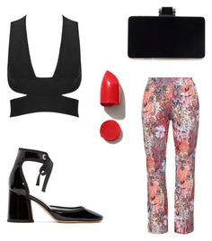 """""""×"""" by kateriches ❤ liked on Polyvore featuring seeyou, NARS Cosmetics and Marc Jacobs"""