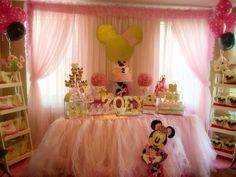 minnie mouse Ballerina Birthday Party Ideas | Photo 2 of 20 | Catch My Party