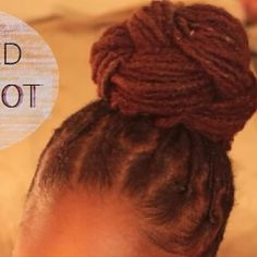 "metobewho: ""Beyonce Inspired Braided Top Knot Bun (Loc Tutorial) Now Up On My Channel ! :) """