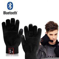 Handschoenen waarmee je touchscreen kunt bedienen  Bluetooth speaker in de duim, microfoon in de pink!  Nu hoef je echt voor niets je handschoenen uit  Ideaal in de winter  In zwart of grijs