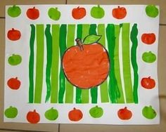 children activities, more than 2000 coloring pages Fall Arts And Crafts, Autumn Crafts, Autumn Art, Diy And Crafts, Crafts For Kids, Fruit Crafts, Food Crafts, Washington Apple, Kindergarten Art Lessons
