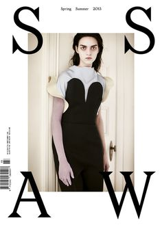SSAW Spring Summer 2013, white cover