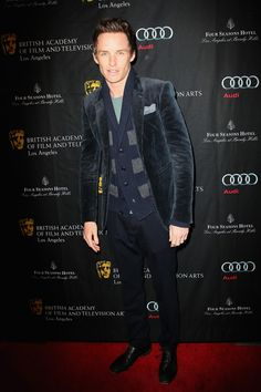 Eddie Redmayne in Burberry