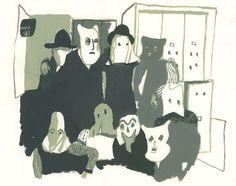 HALLOWE'EN - benoit guillaume illustration