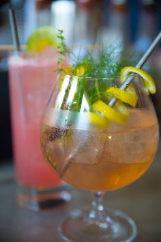 The craft cocktails are not only gorgeous, but delectable at Coltivare