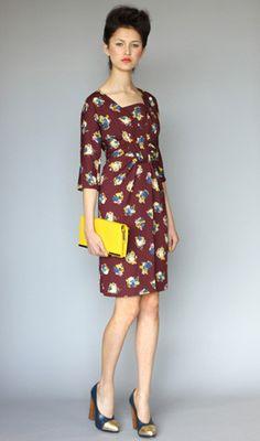 Karen Walker. Jackie Dress Painterly