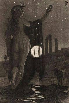 'Luna'. Martin Van Maele.