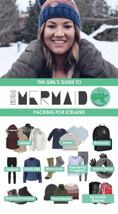 What to pack for Iceland - The Girl's Guide to packing for Iceland | What to pack for a road trip in Iceland