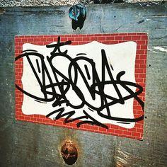 Ekser (@3ks3r) on the bricks.  #ekser #handstyle #graffiti //follow @handstyler on Instagram