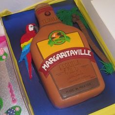 What an awesome Jimmy Buffett Margaritaville® Cake !