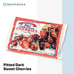 10 RD-Approved Frozen Snacks to Buy at Trader Joe's Healthy Snacks To Buy, Savory Snacks, Quick Snacks, Healthy Food, Healthy Eating, Frozen Cherries, Sweet Cherries, Pizza Nutrition Facts, Chocolate Covered Bananas