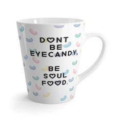 Eyecandy Latte mug – Gyllen Lotus  #latte #drink #coffee #shopping #gift #mug #cup