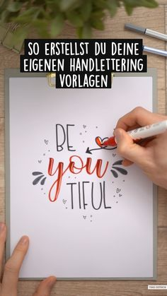 Posca Marker, Self Care Bullet Journal, Hand Lettering Tutorial, Hand Lettering Alphabet, How To Write Calligraphy, Life Guide, Creative Lettering, Writing Advice, Handmade Birthday Cards