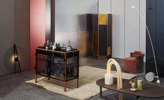 "Aerial floor lamp by Bjørn van den Berg and Falke Svatun - Wallpaper* Design Awards - ""Best Colada Parlour"""