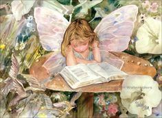 Judith Stein Watercolors - Fantasy