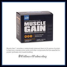 Muscle Gain™ is a favorite here at the #AdvoCare Home Office! www.CajunAdvo.com #musclegain #health