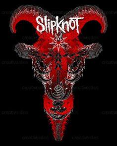 Slipknot Merchandise Graphic by Francis Valadj on CreativeAllies.com