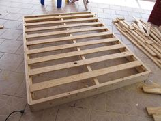 Re Building A Bed Foundation Box Spring And Bedrooms