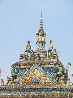 Wat Damreï Sâ (Battambang) Cambodia