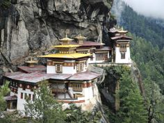 Tigernest, Very Important Buddhist Temple High in the Mountains, Himalaya, Bhutan Photographic Print by Jutta Riegel at AllPosters.com