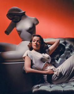 Gene Tierney photo by George Hurrell