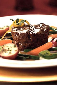 Medallions of Veal with White Wine Butter Sauce   Ontario Veal Appeal