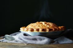 Cider Caramel Apple Pie... that's right, turn apple cider into caramel.
