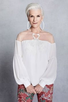Model Maye Musk, 69, Has the Key to Aging Gracefully | Maye Musk, model—dietitian, and mother of Tesla founder Elon Musk—is the new face of Sachin & Babi's spring 2018 campaign.