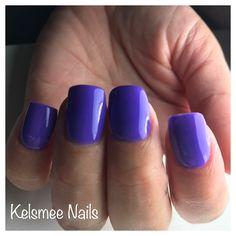 Ezflow Trugel Purple nails